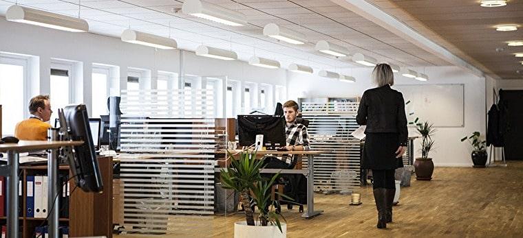オフィスの風景